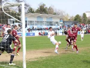 Rapid a remizat sâmbătă, scor 0-0, pe terenul formaţiei CF Brăila