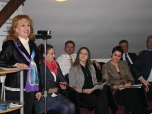 Şeful delegaţiei României la Adunarea Parlamentară a Francofoniei, deputatul PDL de Suceava Sanda-Maria Ardeleanu