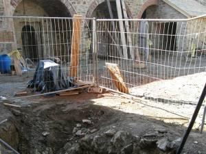 Cisterna din Cetatea de Scaun a fost redecopertată recent