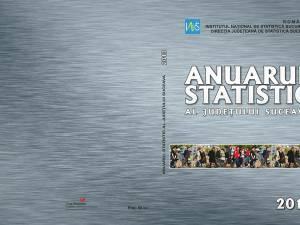 Anuarul statistic al Sucevei, ediţia 2013, disponibil la vânzare
