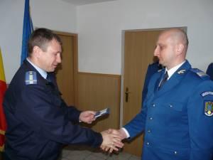 Ridicări în grad cu ocazia Zilei Jandarmeriei Române