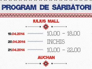 Programul de Paşte la Iulius Mall Suceava
