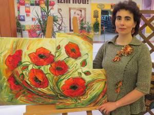 Artista plastică Cristina Hreamătă Macoveiciuc