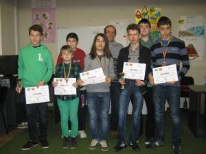 Micii electronişti de la Palatul Copiilor au fost premiaţi la un concurs naţional