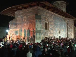 Noaptea de Înviere la Mănăstirea Voroneţ