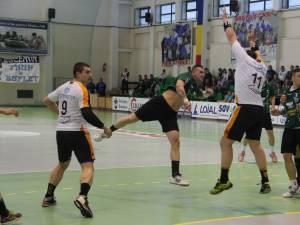 CSU Suceava a pierdut cu scorul de 21-23 primul meci cu HCM Baia Mare