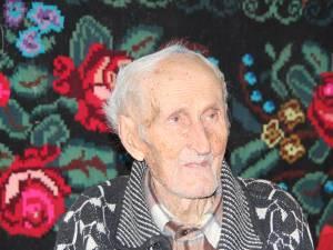 Vladimir Creangă, cel mai vârstnic locuitor al judeţului Suceava este