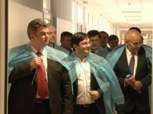Ministrul Nicolae Bănicioiu a fost impresionat de condiţiile oferite de Spitalul Suceava