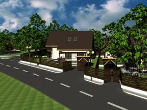 Fiecare casă din cartierul de vile de pe strada Aleea Dumbrăvii va avea propria parcare pentru maşină