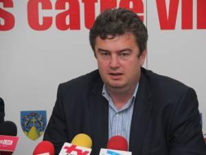 Preşedintele Consiliului Judeţean Suceava, Cătălin Nechifor