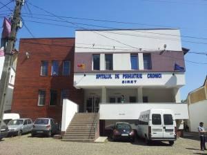 Noua clădire a Spitalului de Psihiatrie Cronici Siret