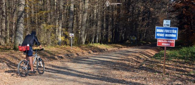 Traseu bicicletă Pătrăuți – Dragomirna