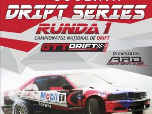 Campionatul Naţional de Drift, etapa I, la Shopping City Suceava