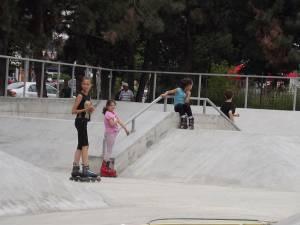 Nordic Skate Park va fi inaugurat la finele lunii iulie
