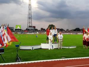 Cristina Casandra, pe podiumul de premiere de la Jocurile Balcanice