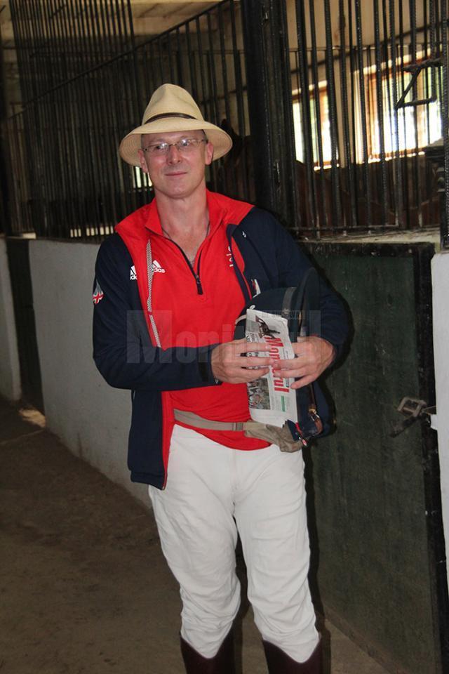 Michael Pugh începe la Suceava ultima etapa a călătoriei sale de 2200 de km
