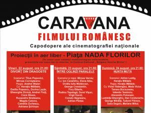 Caravana filmului românesc ajunge la Fălticeni