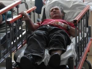 Vasile Lavric este în greva foamei de şase săptămâni