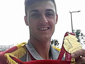 Ciprian Tudosă, singurul sportiv din judeţul Suceava prezent la Jocurile Olimpice de Tineret. Foto: cosr.ro