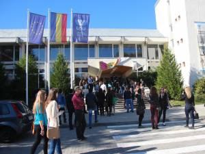 Festivitatea de deschidere a anului universitar la Suceava