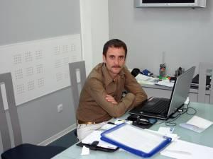 Vasile Armenean, patronul firmei Betty Ice