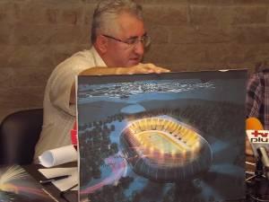 Credit pentru amenajarea unui nou stadion al Sucevei, cu 15.000 de locuri