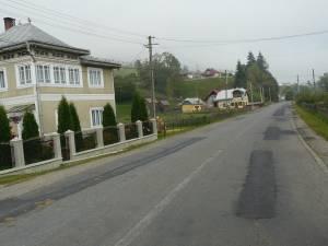Lucrările de reparaţie a drumului naţional 18, care leagă Suceava de Maramureş, sunt aproape finalizate