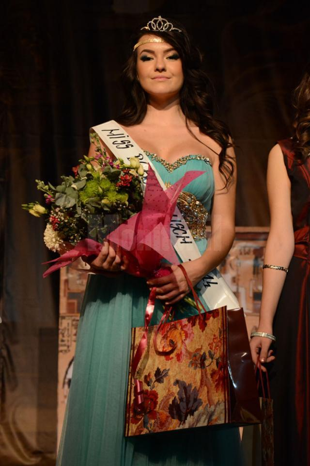 Titlul Miss Boboc a fost adjudecat de eleva Sanela Andronic