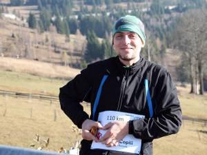 Tandin Cernica a avut parte de o cursă dificilă, dar la final a fost primit într-un mod aparte la Suceava după 110 km de alergare