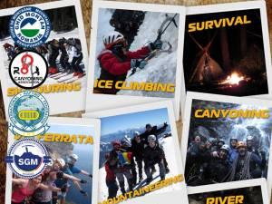 Academia de Munte – cursuri de alpinism, schi, rafting, canyoning, speologie