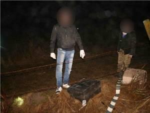 Aproape 4.000 de pachete de ţigări de contrabandă, confiscate de poliţiştii de frontieră