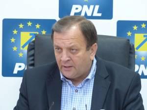 Secretarul general al PNL, senatorul Gheorghe Flutur