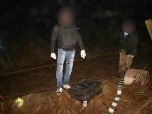 Contrabandişti au fost reţinuţi de poliţiştii de frontieră suceveni, iar ţigările au fost confiscate