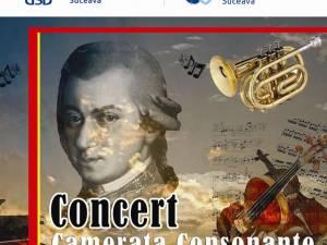 """Concert al Cameratei Consonante """"Mihail Jora"""" din Bacău, la USV"""