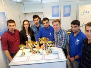Tinerii de la USV au fost premiaţi pentru proiectele lor