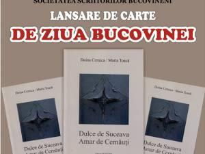 Lansare de carte, de Ziua Bucovinei