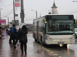 Autobuzele societăţii de transport în comun din municipiul Suceava care circulă pe linia 2 vor avea un traseu modificat temporar
