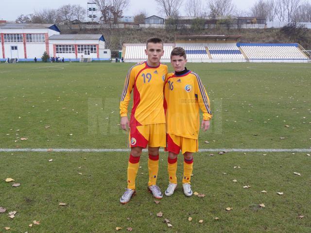 Robert Bosânceanu (nr. 16) are şansa de a-şi câştiga un loc în lotul Under 15 al României
