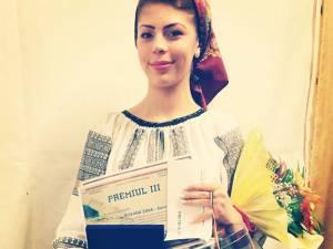 Roxana Sava a obţinut premiul al III-lea