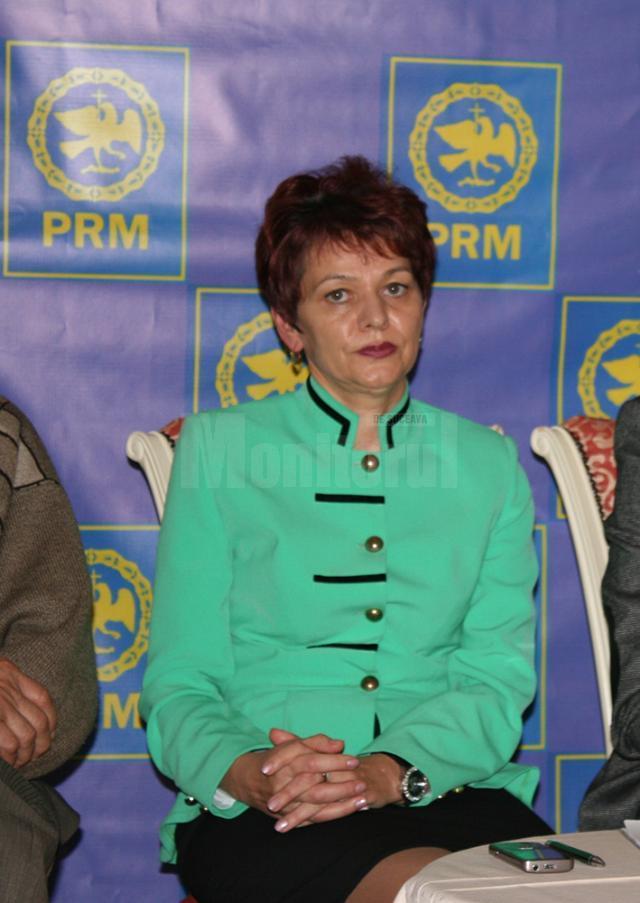 Saveta Ionesi, preşedintele interimar al filialei PRM Suceava