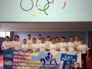 Luptătorii suceveni au avut evoluții bune și la Cupa României de juniori I