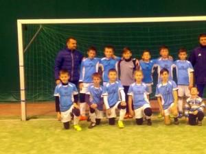 Echipa pregătită de Bogdan Pantea şi Iulian Ignătescu a evoluat fără greşeală
