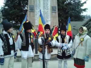 Ziua Naţională a României, sărbătorită de elevii din Moldoviţa