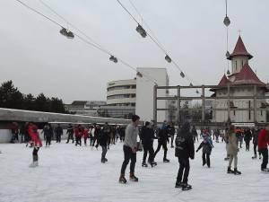 O bună parte dintre suceveni au sărbătorit 1 Decembrie pe gheaţă