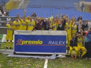 România a cucerit duminică pentru a cincea oară consecutiv titlul european la minifotbal, la turneul organizat în localitatea Herceg Novi (Muntenegru)