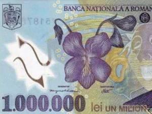 """""""Noua bancnotă de un milion"""""""