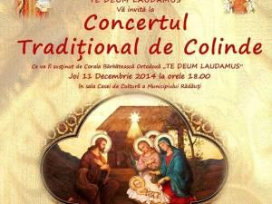Concertul Tradiţional de Colinde, la Rădăuţi