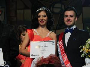 Miss şi Mister Universitatea Suceava 2014  -  Andreea Ţăran şi Vlad Palamariu