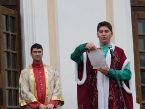 Ioan Ilie Nemţoi a citit mesajul solemn al Cetăţii Sucevei