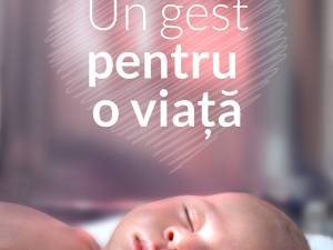 """Campania de strângere de fonduri """"Un gest pentru o viață"""", la Suceava şi Câmpulung Moldovenesc"""